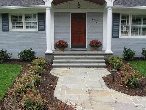 Flagstone Walkway Falls Church, VA