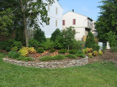fieldstone walls