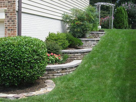 retaining walls premium lawn and landscape