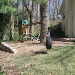 retaing wall playground 2